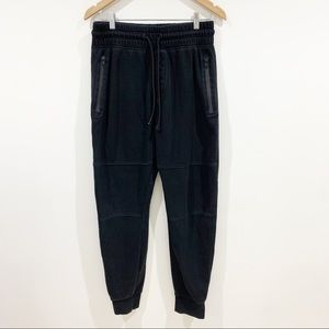 H&M Devided Black joggers Sz medium